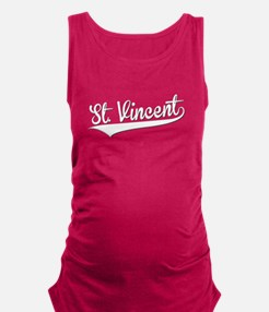 St. Vincent, Retro, Maternity Tank Top