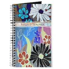 Retired Teacher Daisy design Journal