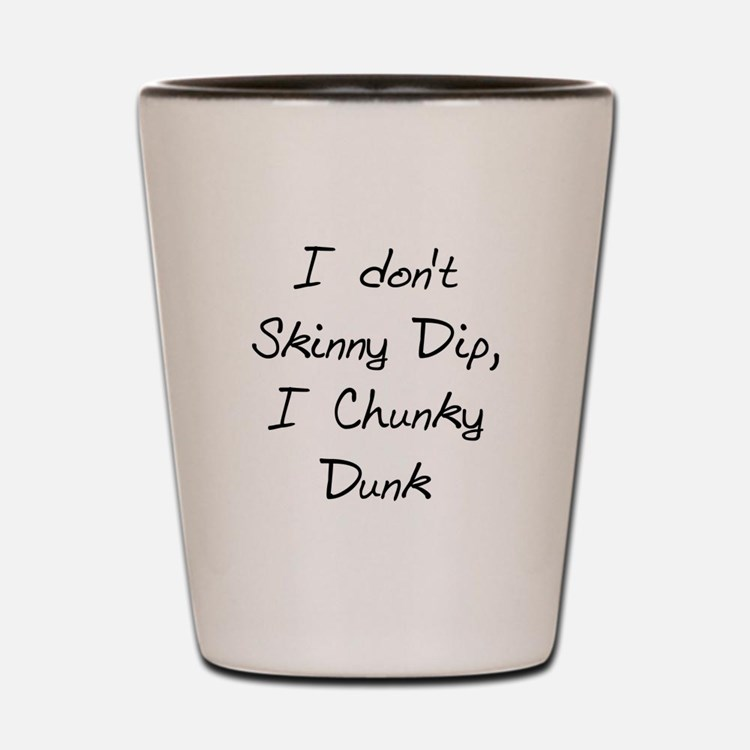 Chunky Dunk Shot Glass