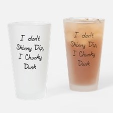 Chunky Dunk Drinking Glass