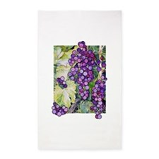 grape2.png 3'x5' Area Rug