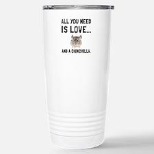 Love And A Chinchilla Travel Mug