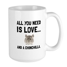 Love And A Chinchilla Mugs