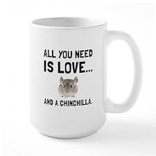 Love And A Chinchilla Mugs