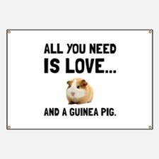Love And A Guinea Pig Banner