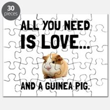 Love And A Guinea Pig Puzzle