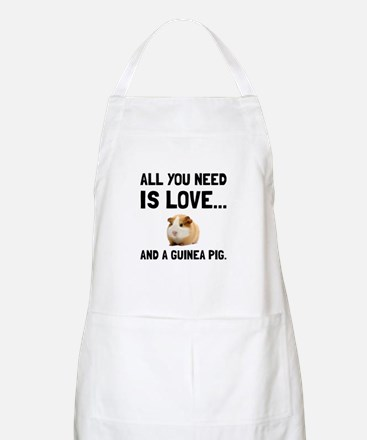 Love And A Guinea Pig Apron
