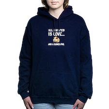 Love And A Guinea Pig Women's Hooded Sweatshirt