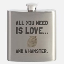 Love And A Hamster Flask