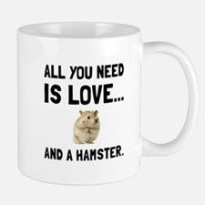 Love And A Hamster Mugs