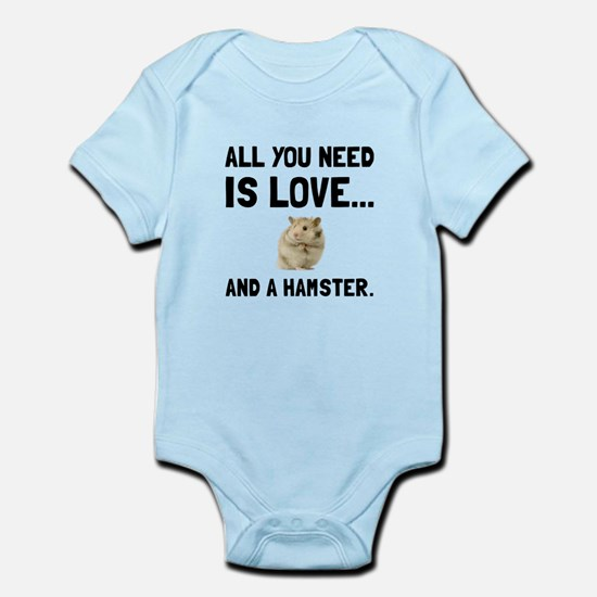 Love And A Hamster Body Suit