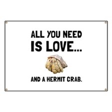 Love And A Hermit Crab Banner