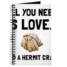 Love And A Hermit Crab Journal