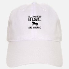 Love And A Horse Baseball Baseball Baseball Cap
