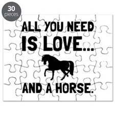 Love And A Horse Puzzle