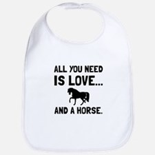 Love And A Horse Bib