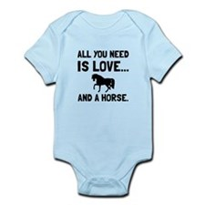 Love And A Horse Body Suit