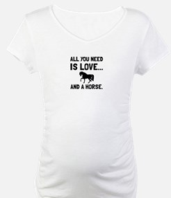 Love And A Horse Shirt