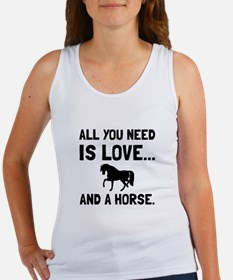 Love And A Horse Tank Top