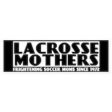 Lacrosse Mothers (bumper) Bumper Bumper Sticker