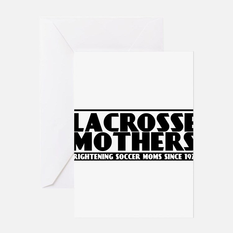 Lacrosse Mothers Greeting Card