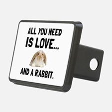 Love And A Rabbit Hitch Cover