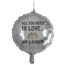 Love And A Rabbit Balloon