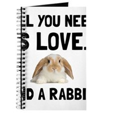 Love And A Rabbit Journal