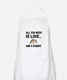 Love And A Rabbit Apron