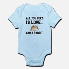 Love And A Rabbit Body Suit