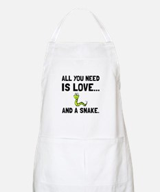 Love And A Snake Apron