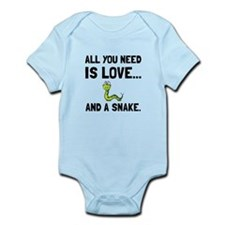 Love And A Snake Body Suit