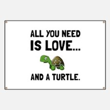 Love And A Turtle Banner