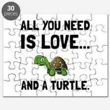 Love And A Turtle Puzzle