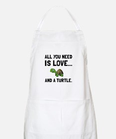 Love And A Turtle Apron