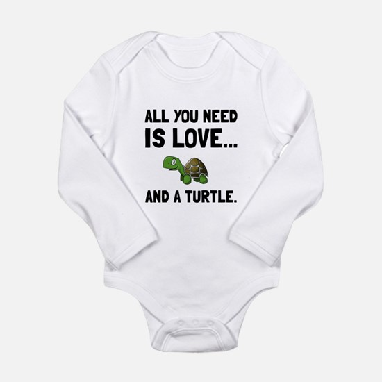Love And A Turtle Body Suit