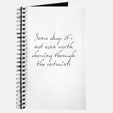 Restraints Journal