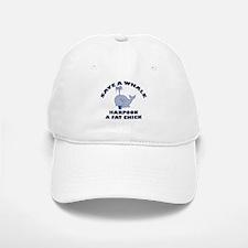 Save a Whale Baseball Baseball Cap