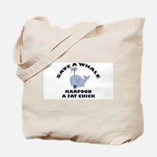 Save a Whale Tote Bag