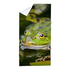 European Frog Beach Towel