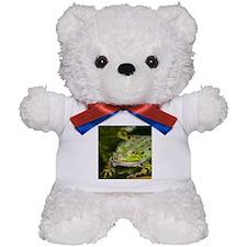 European Frog Teddy Bear