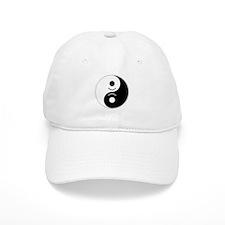 Happy Yin Yang Baseball Baseball Cap