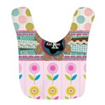 Trendy Girly Custom Embellished Bib