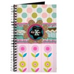 Trendy Girly Custom Embellished Journal