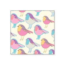 Colorful Birds Sticker