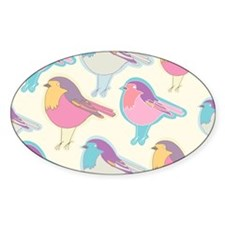 Colorful Birds Decal