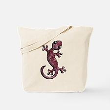 Rose Lizard Tote Bag