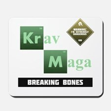 Krav Maga Elements - Breaking Bones Mousepad