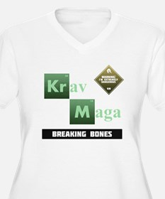 Krav Maga Elements - Breaking Bones Plus Size T-Sh