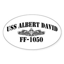 USS ALBERT DAVID Decal